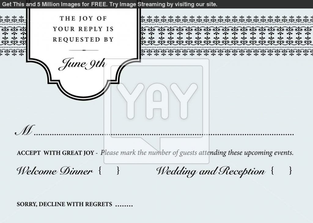 Free Wedding Invitation Templates Pdf
