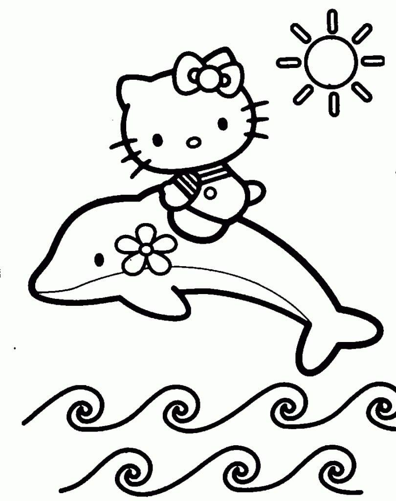 Girl Party Invitation Hello Kitty 3