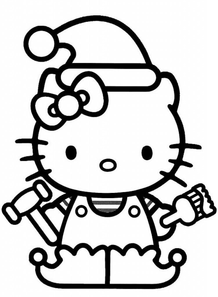 Girl Party Invitation Hello Kitty 4
