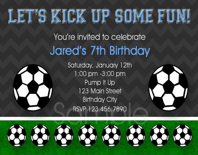 Girl Soccer Ticket Invitation Free Printable 5