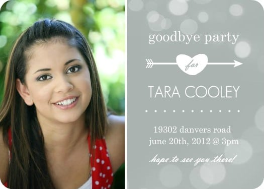 Going Away Party Invitations Free 2