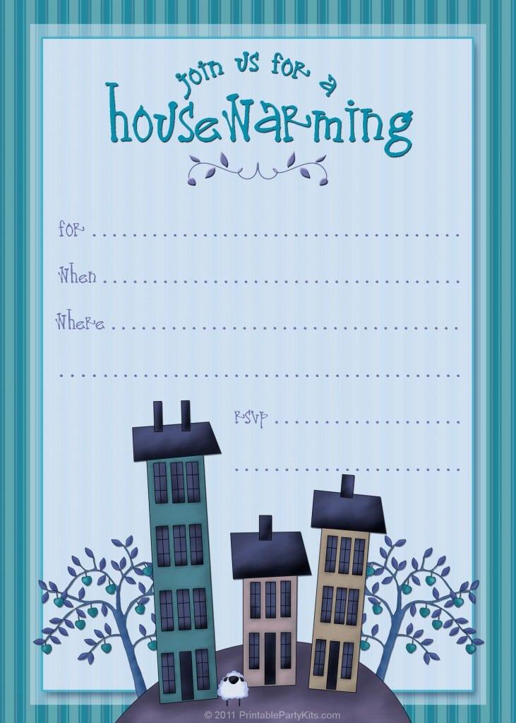 Halloween Housewarming Party Invitations 2