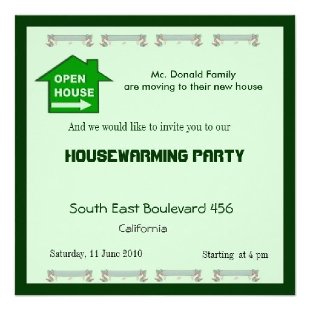 Halloween Housewarming Party Invitations 4