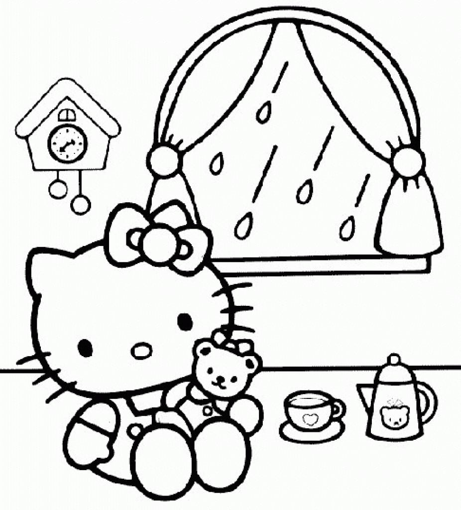Hello Kitty Background For Invitation 3