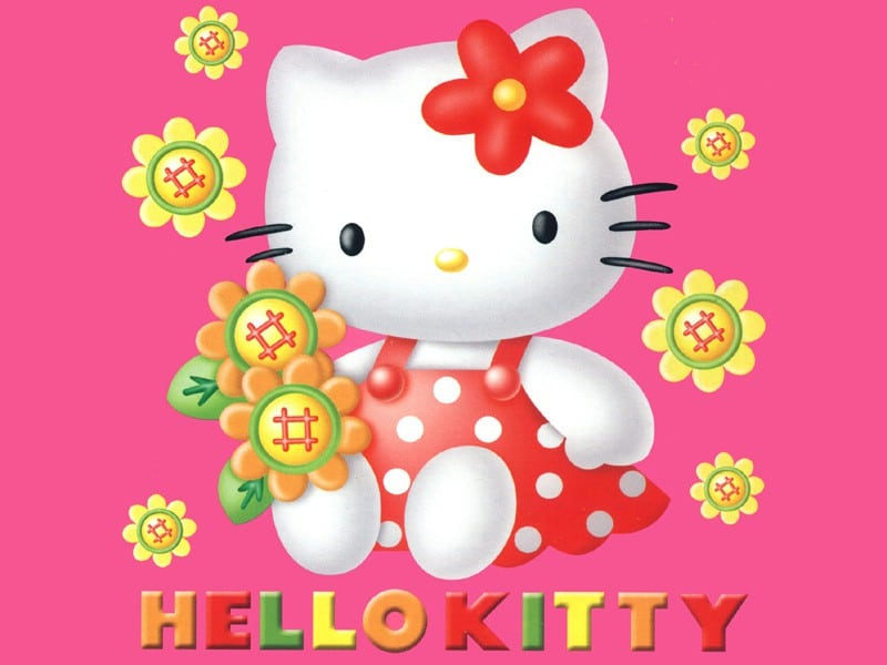 Hello Kitty Background For Invitation 5