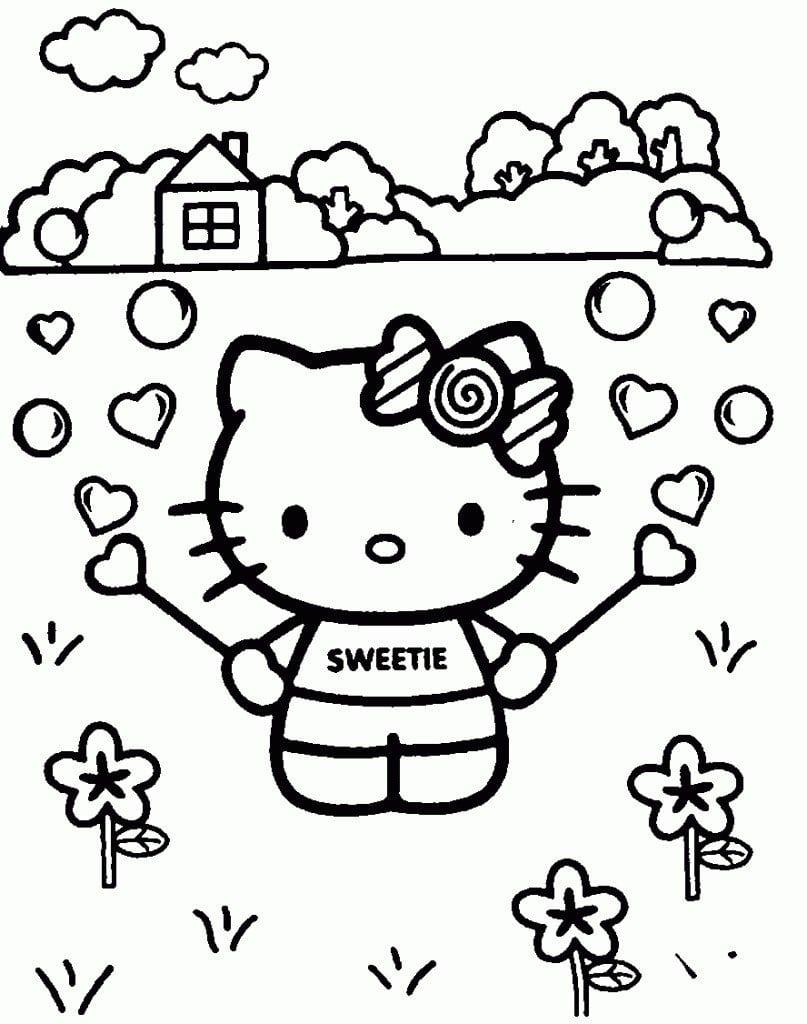 Hello Kitty Birthday Invitation Printable 2