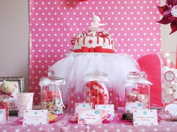 Hello Kitty Birthday Invitation Printable 4