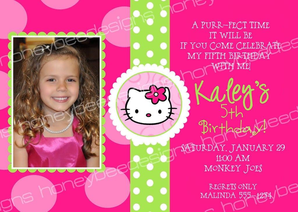 hello kitty birthday invitations templates 2
