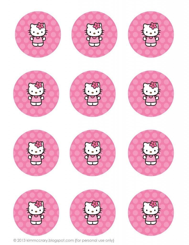 Hello Kitty Christening Invitation Free Printable 3