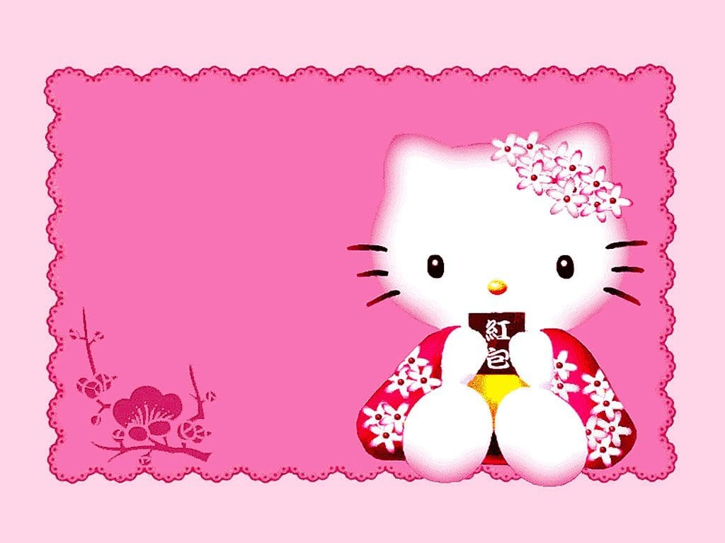Hello Kitty Christening Invitation Free Printable 4