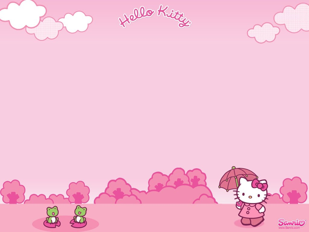 Hello Kitty Invitation Background 2