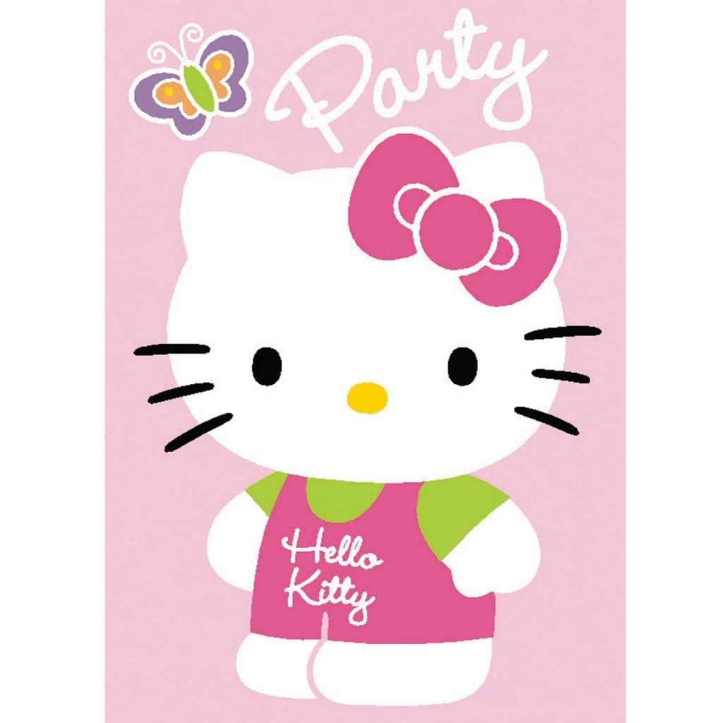 Hello Kitty Invitation Background 3