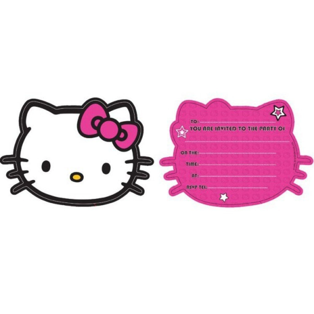 Hello Kitty Invitation Free Printables 4