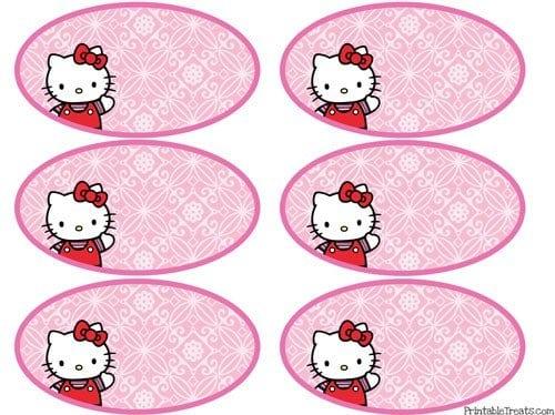 Hello Kitty Invitation Free Printables