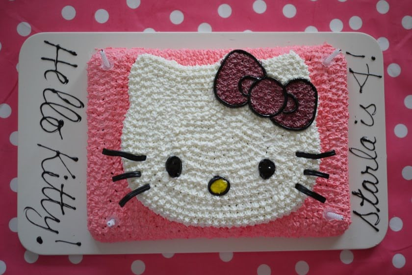 Hello Kitty Invitations Template 3