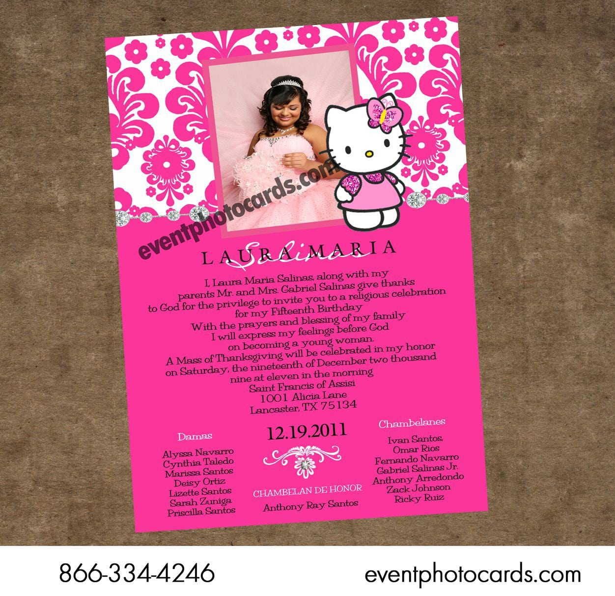 Hello Kitty Invitations Template 5