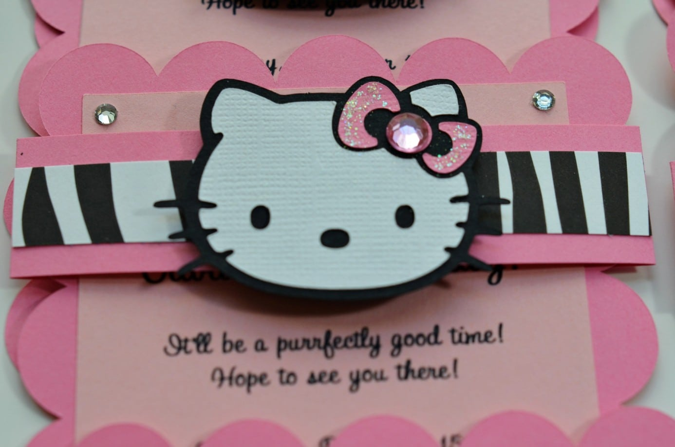 Hello Kitty Invites For Birthdays 4