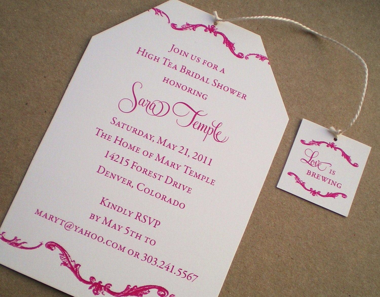 free high tea invitations - Roho.4senses.co