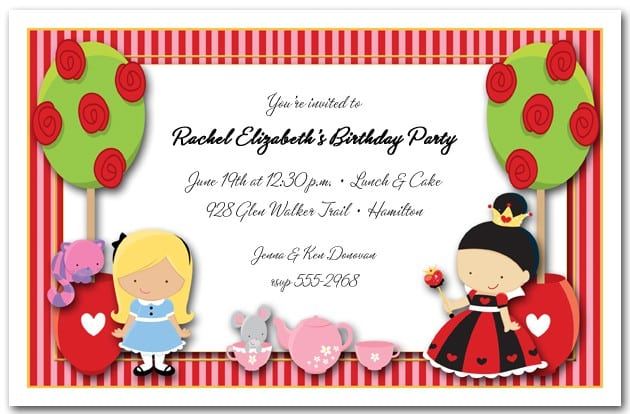 High Tea Invite Template Free 4