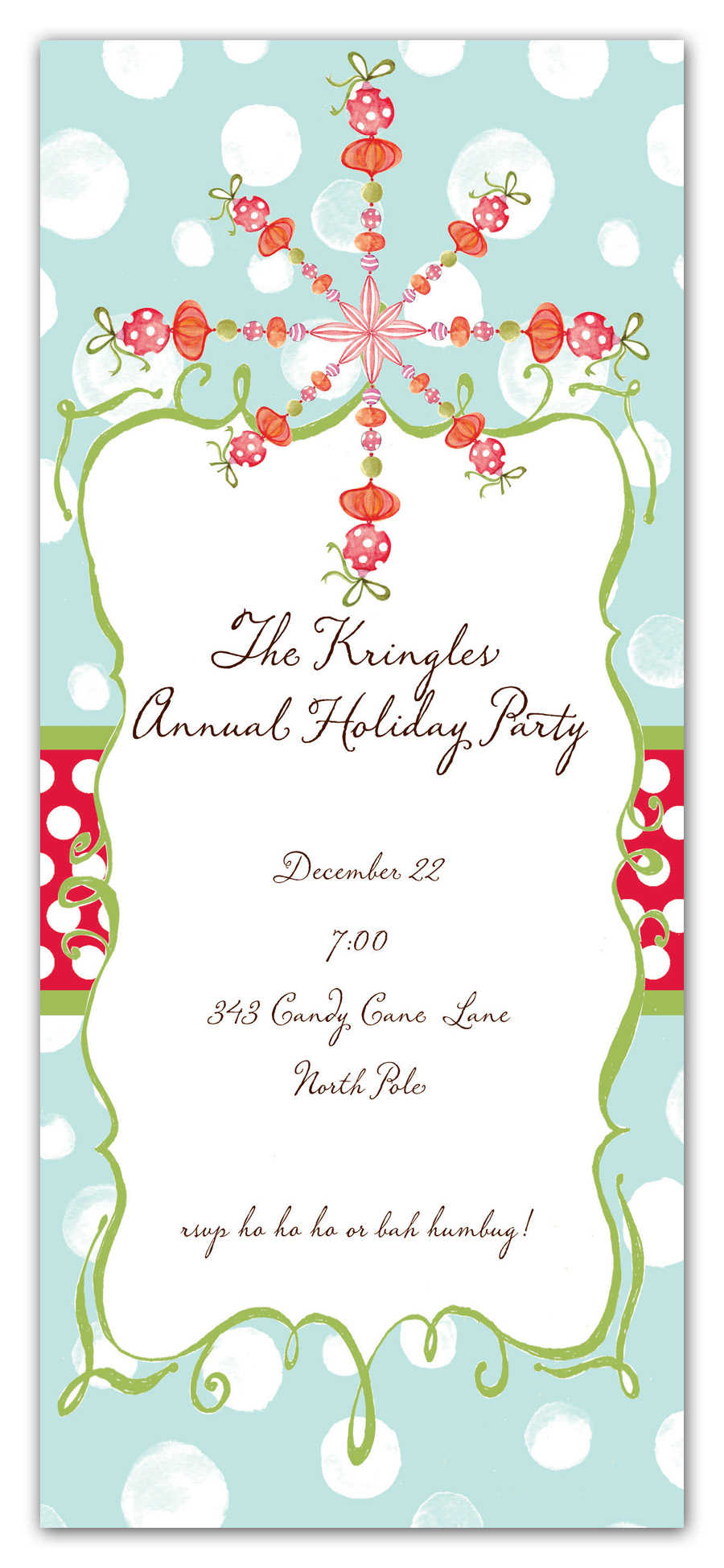 Christmas invitation templates cyberuse for Free holiday invitation templates