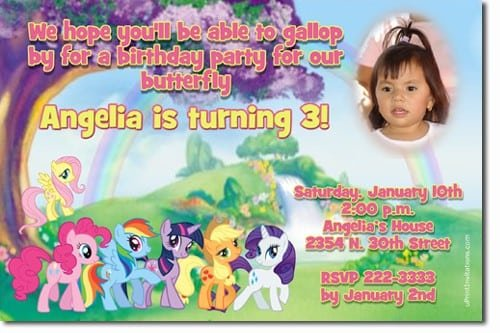 Horse Birthday Invitations Free Printable 5
