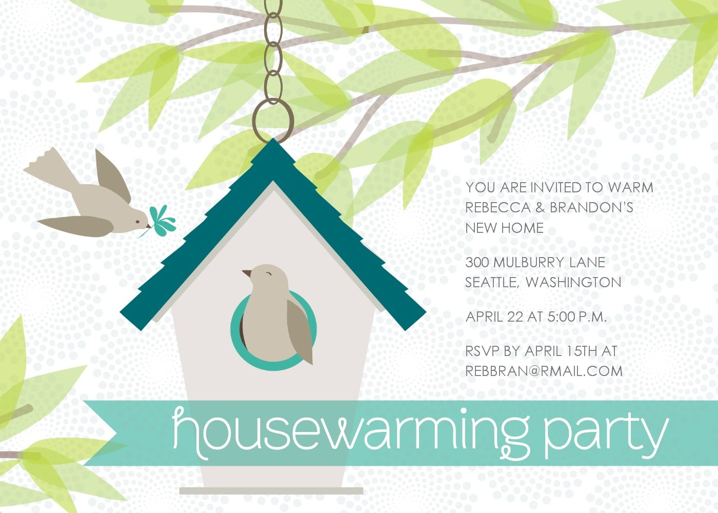 Housewarming Invitation Templates Free 2