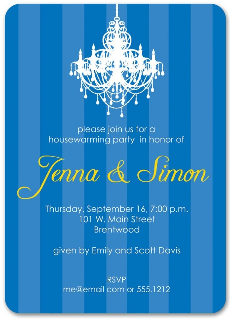 Housewarming Party Invitation Template Free 2
