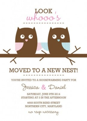 Housewarming Party Invitation Template Free 5