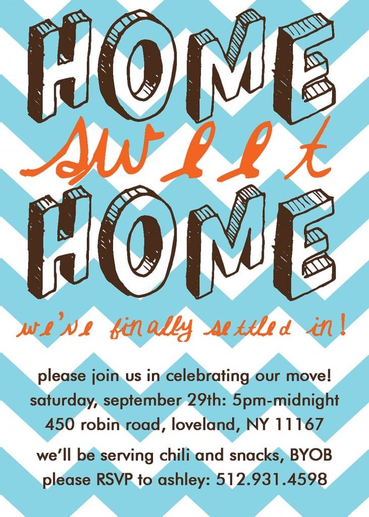 Housewarming Party Invitation Wording