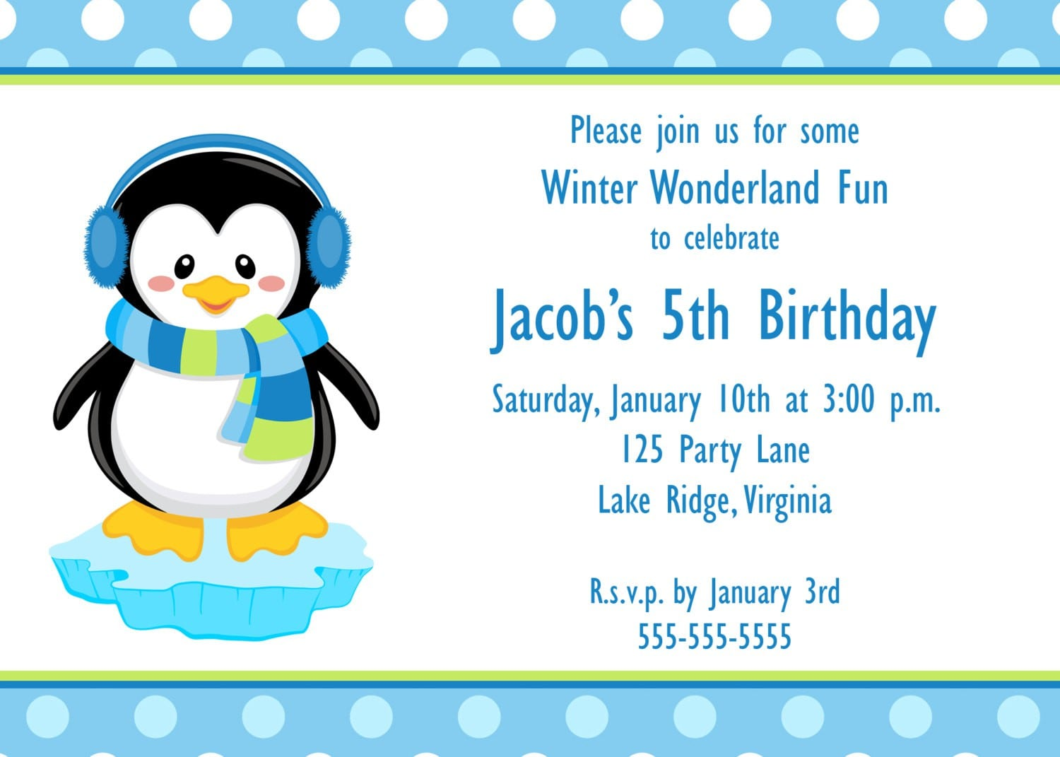 Invitation 1 Birthday Picture Free Print 2