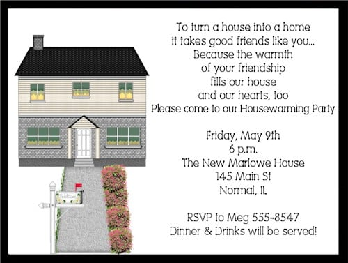 Invitation For Housewarming Party 2