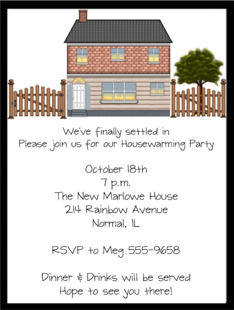 Invitation For Housewarming Party 3