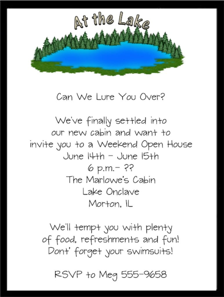 Invitation For Housewarming Party 4