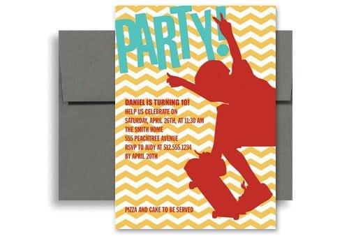 Invitation Sample For Birthday Kids 3