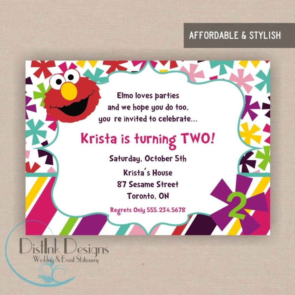 Invitation Samples For Birthday Party