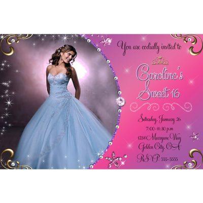 sweet sixteen invitations templates