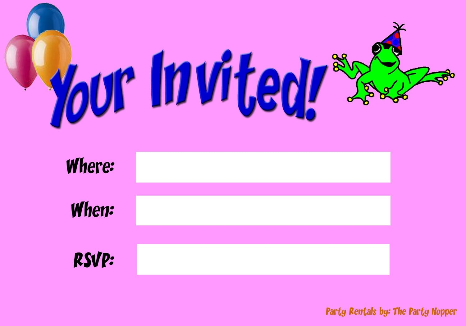 Invitations For Birthday Party For Boys 3