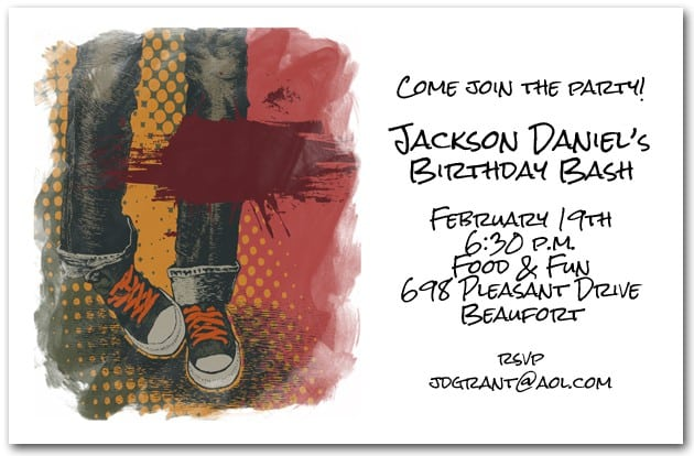 Invitations For Birthday Party For Boys 5