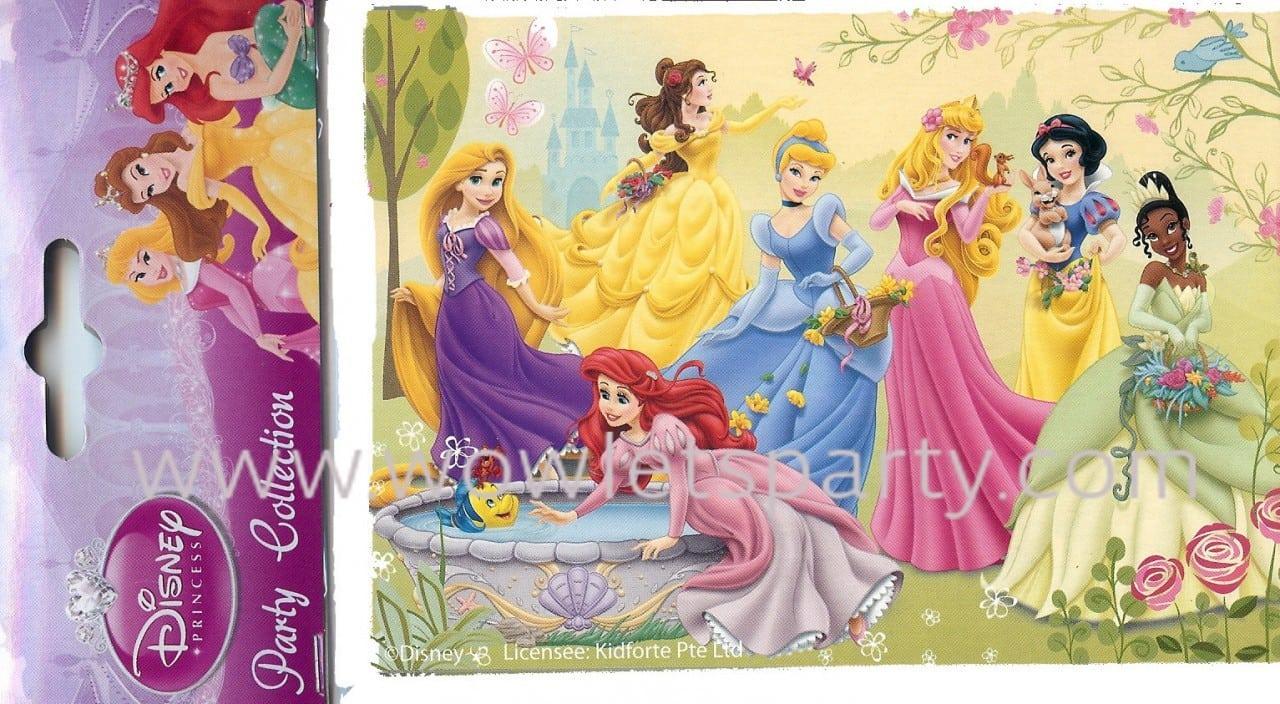 Invitations Princesses Disney 4