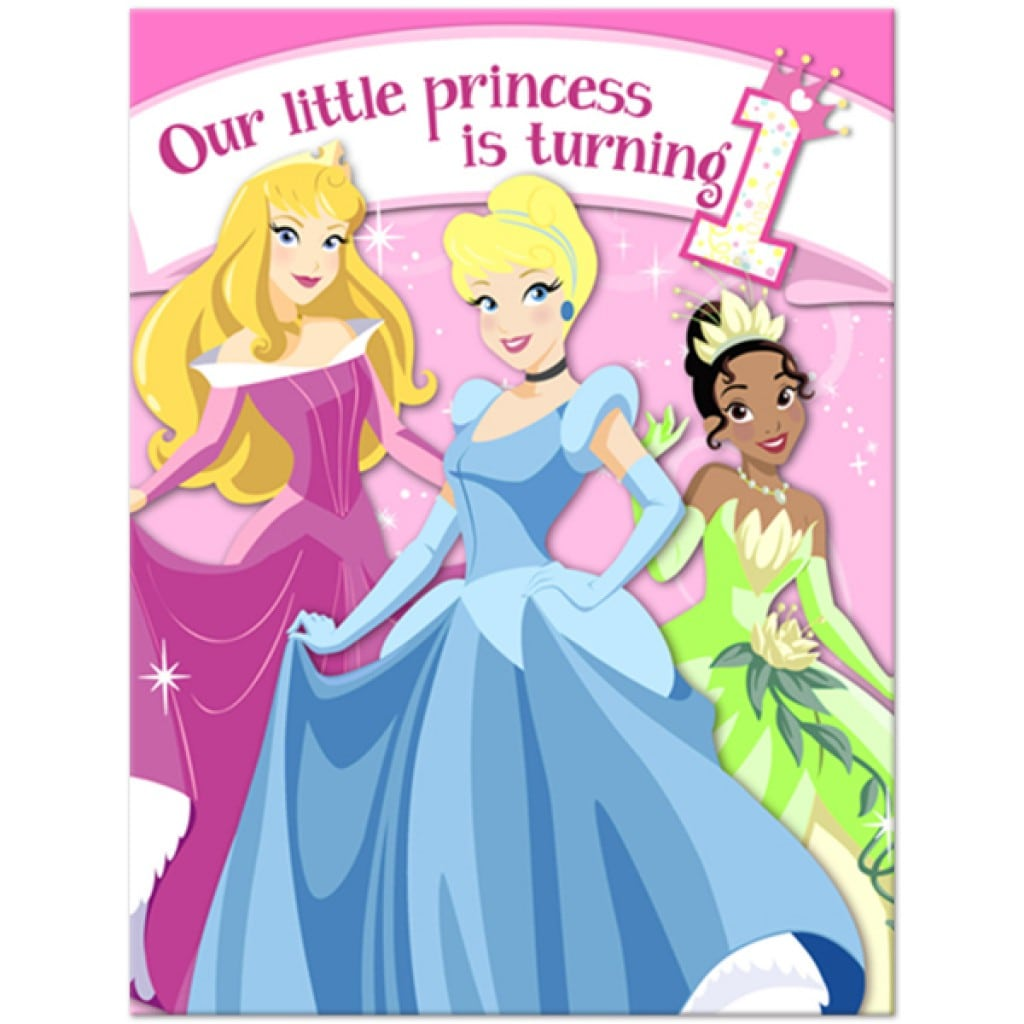 Invitations Princesses Disney