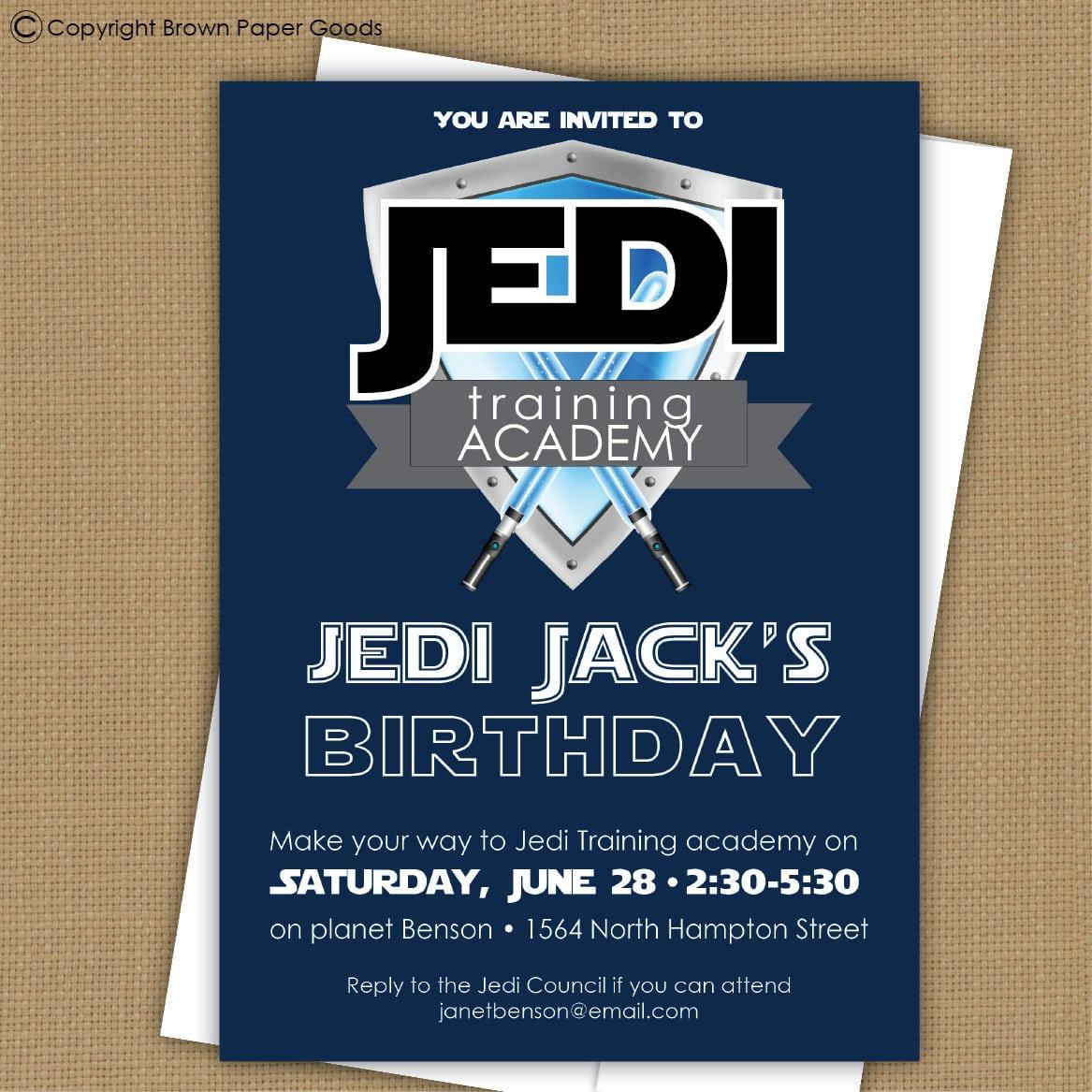 Star Wars Printable Invitations 53