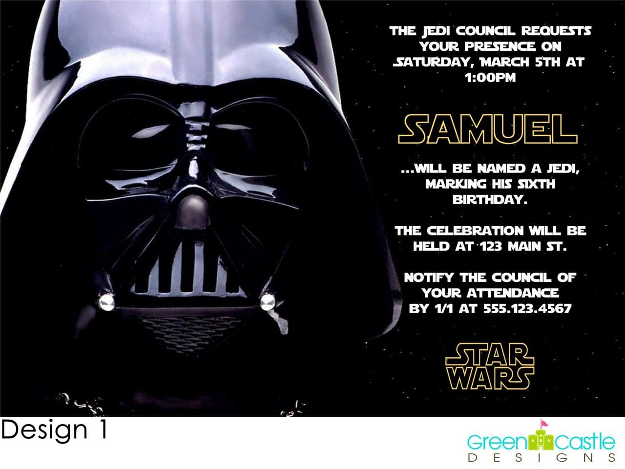 Star Wars Lego Birthday Invitations Printable Free | LZK Gallery