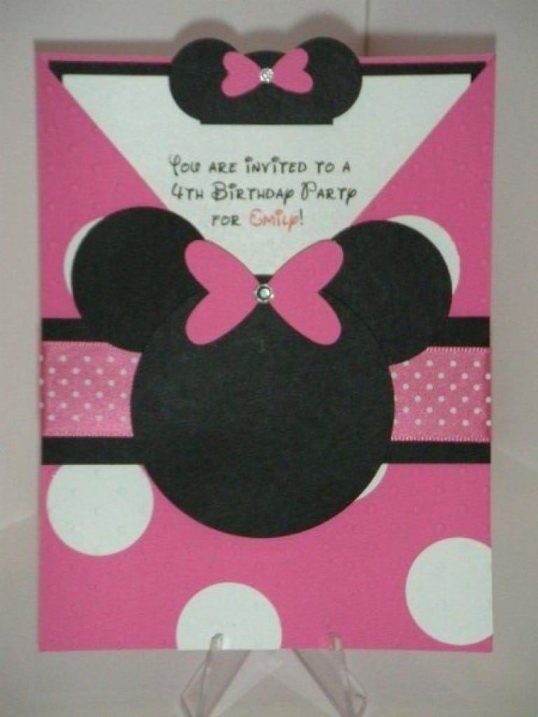 Invitations Template Mickey Mouse Playhouse 2