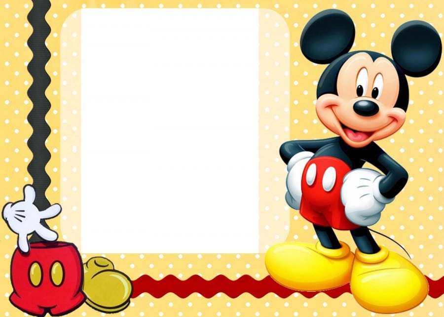 Invitations Template Mickey Mouse Playhouse 3