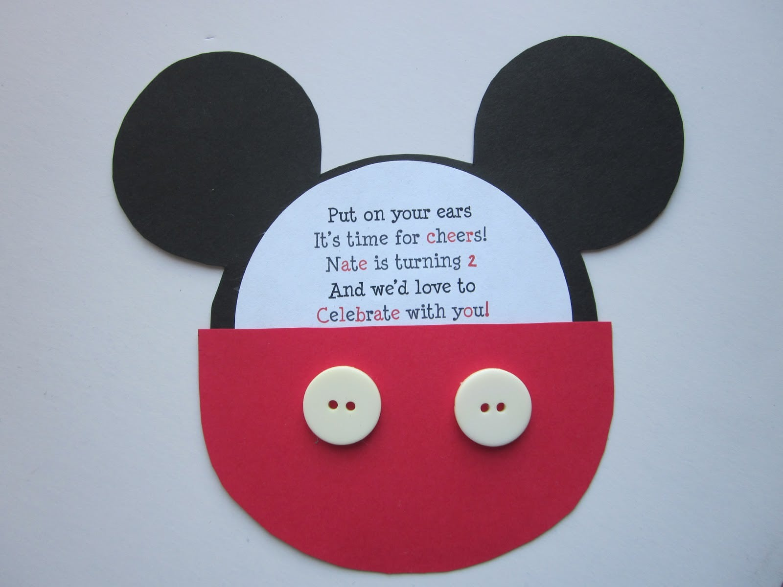 Invitations Template Mickey Mouse Playhouse 5