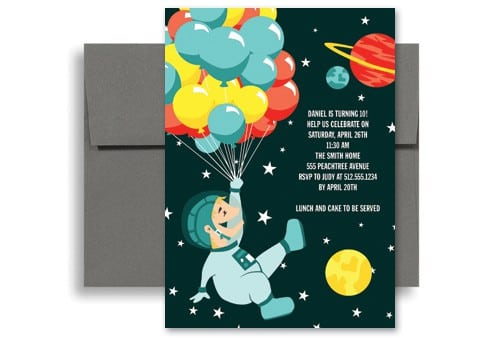 Kids Birthday Invitation Sample 4