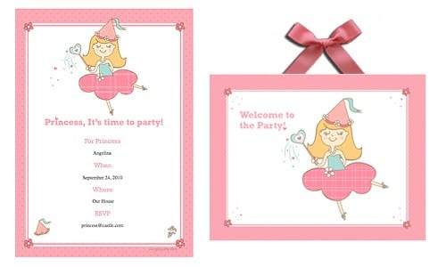 Kids Invitations For Birthday Party Printable 4