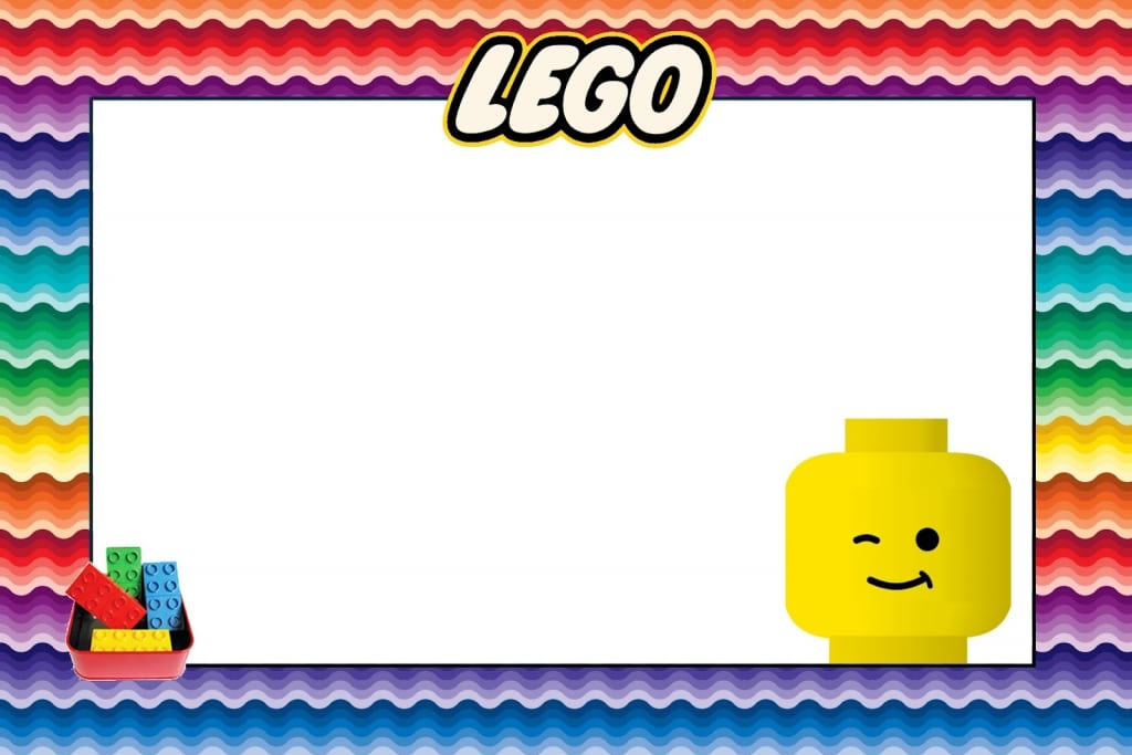 Free Lego Party Invitation Templates For Word. How To Have A LEGO ...