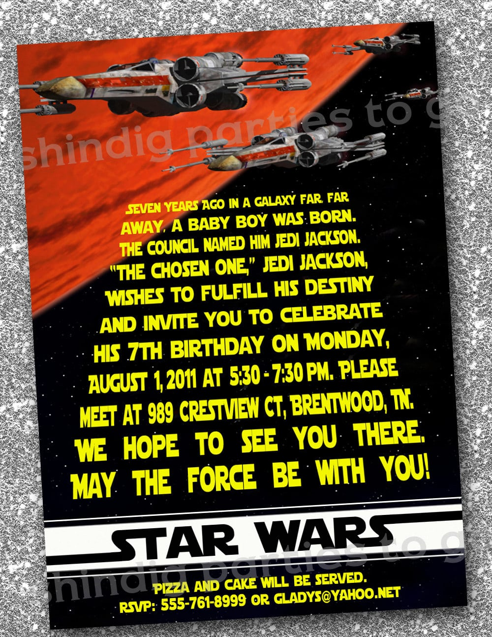 Lego Star Wars Invitation Template Free