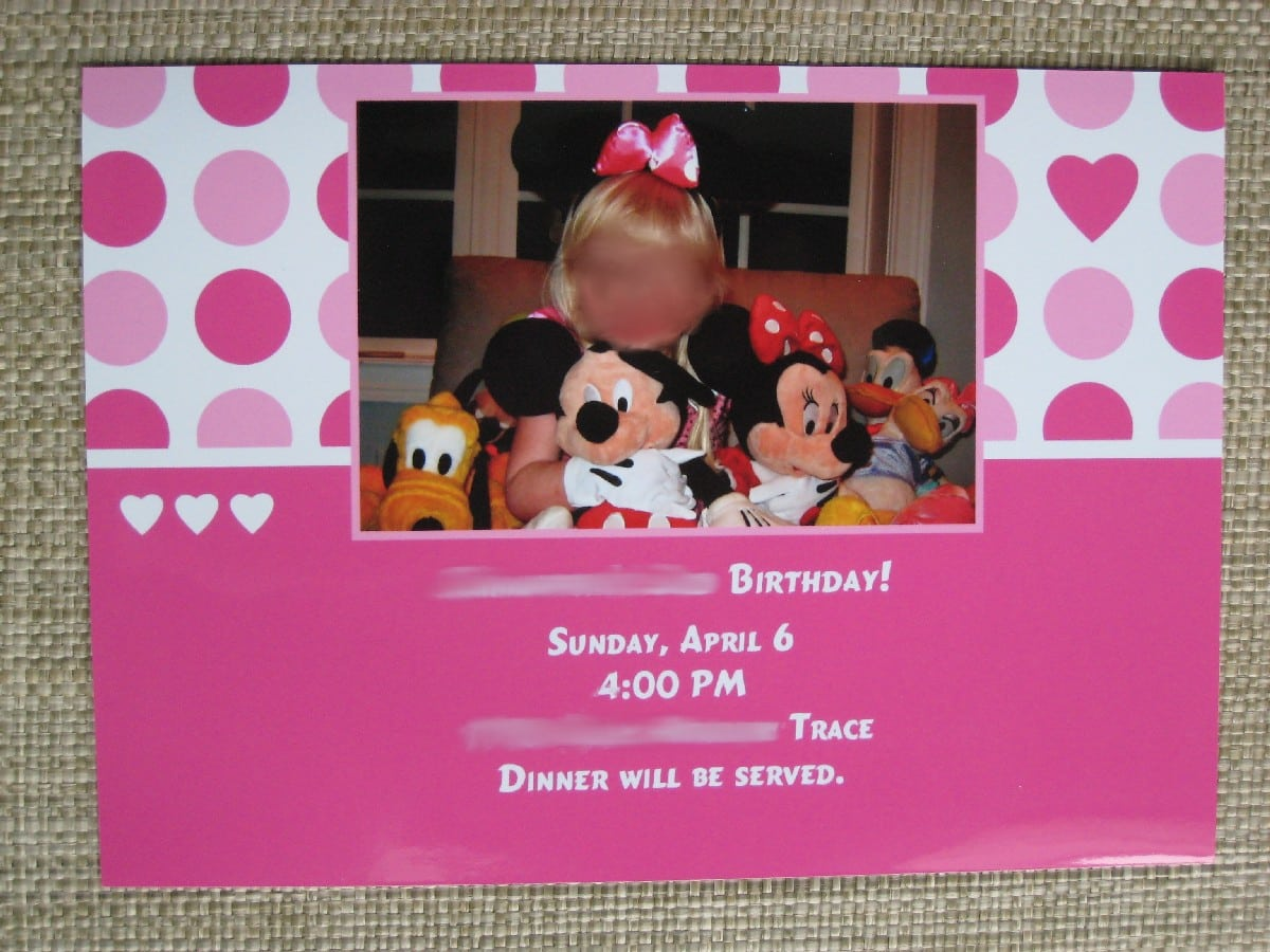 Mickey Mouse Clubhouse Invite 2